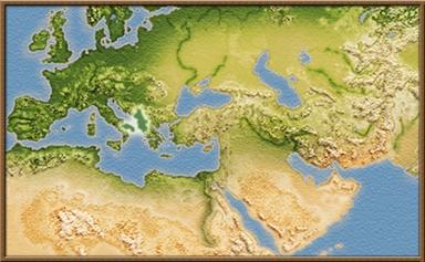 Epeiros mapa