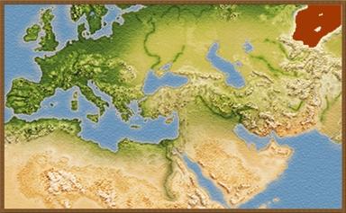 Saka Rauka mapa