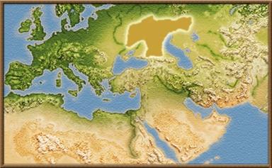 Sauromatae mapa