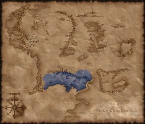 Gondor mapa