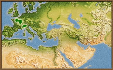 Aedui mapa