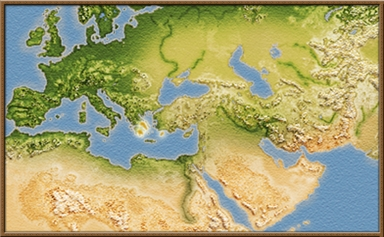 Koinon Hellenon mapa