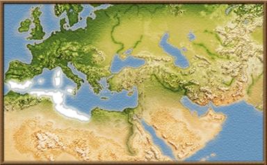 Qarthadast mapa