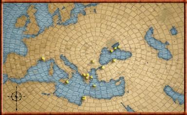 Greeks mapa