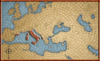 romans mapa