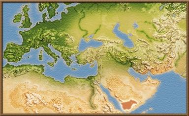 Saba mapa