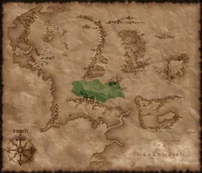 Rohan mapa